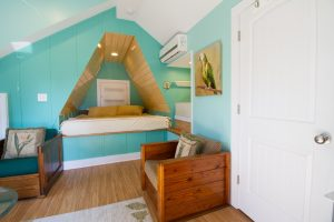 Interesting Bedroom Space
